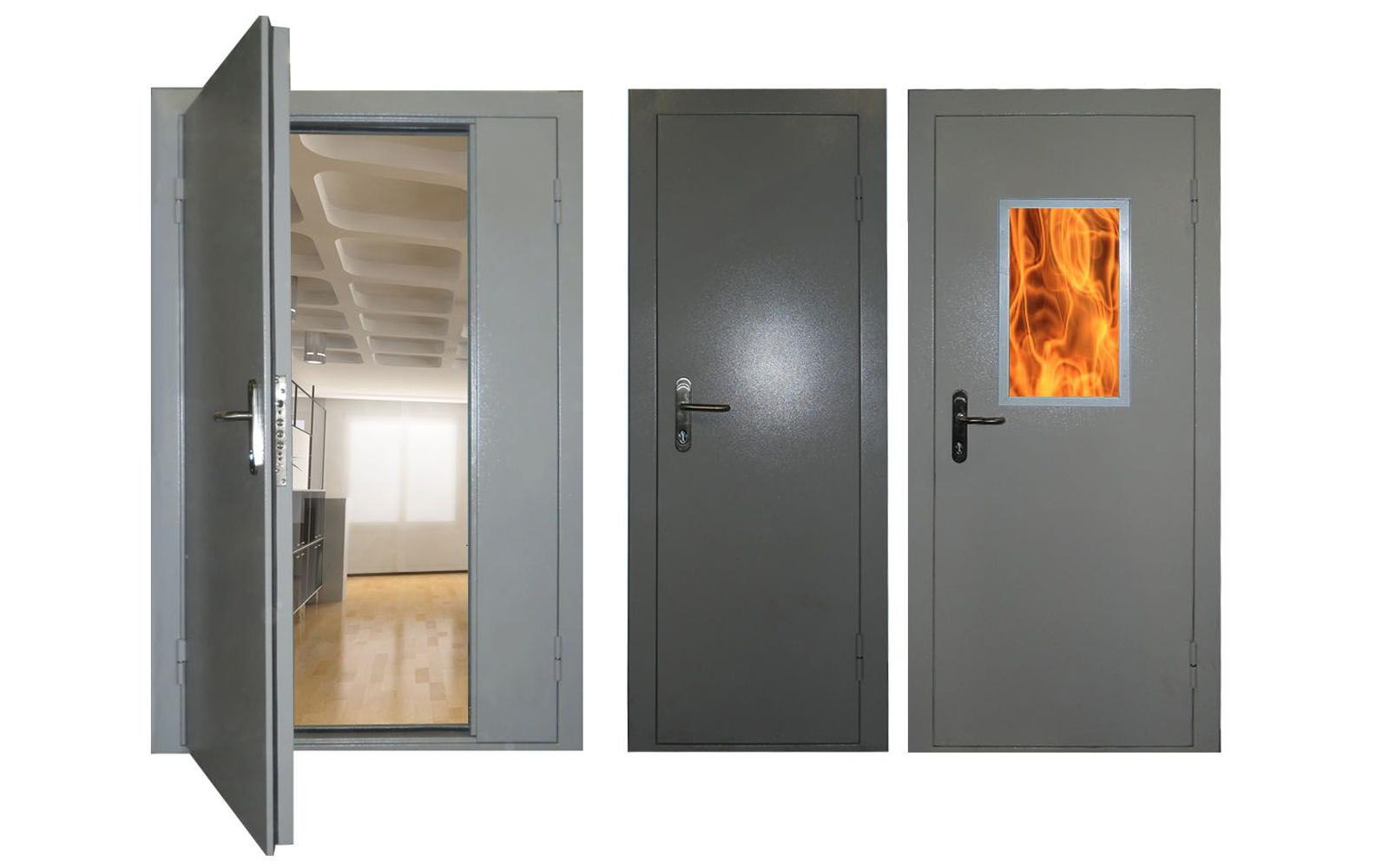 Противопожарные и огнеупорные двери торекс